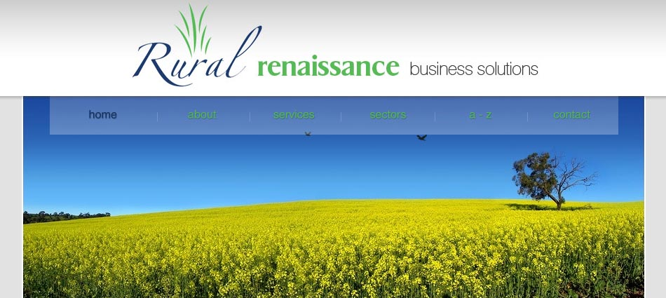 Rural Renaissance -  business solutions, funding advice, business planning, specialised management skills and training for farm, food and rural businesses